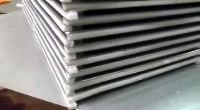 Чередование пластин в агрегате