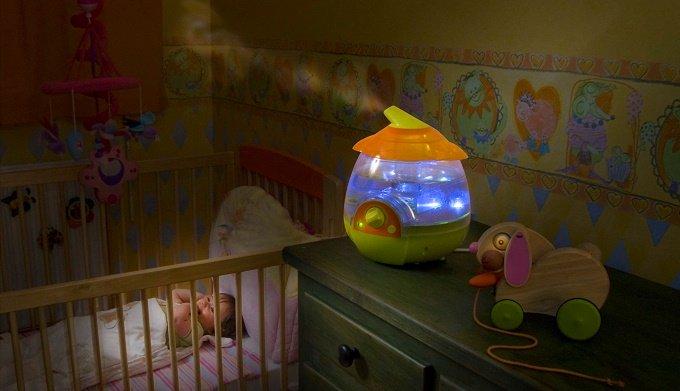 Ультразвуковой увлажнитель воздуха для детской