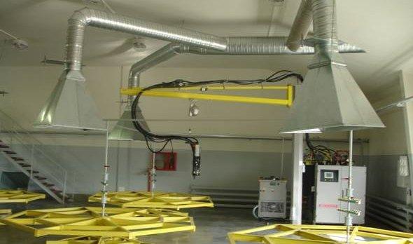 Навесной зонт вентиляционной системы