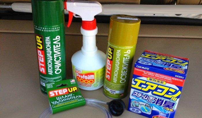 Средства для очистки вентиляции