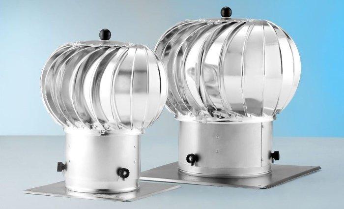 Принцип работы турбодефлектор для вентиляции