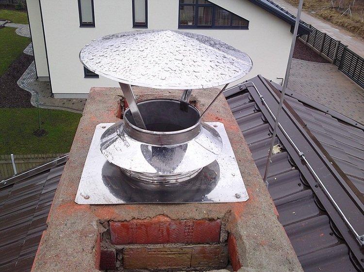 Дефлектор Григоровича на крыше