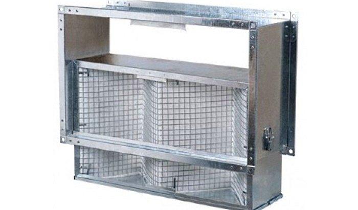 Механический фильтр для вентиляции