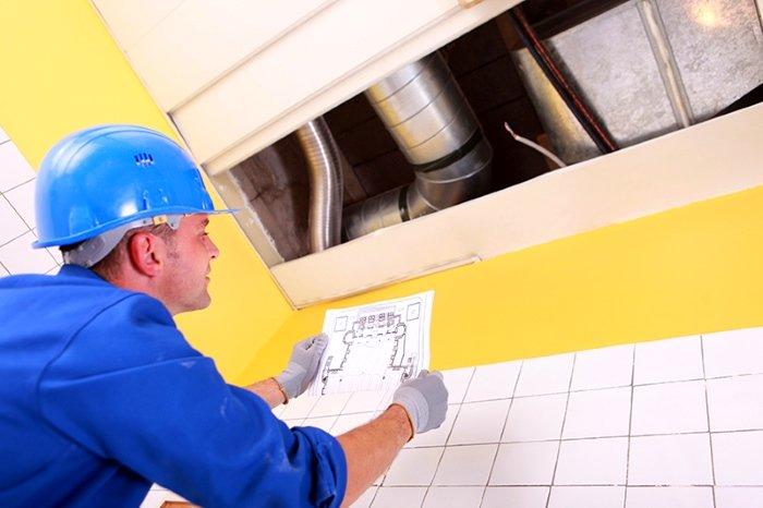 Расчёт производительности вентиляционной системы