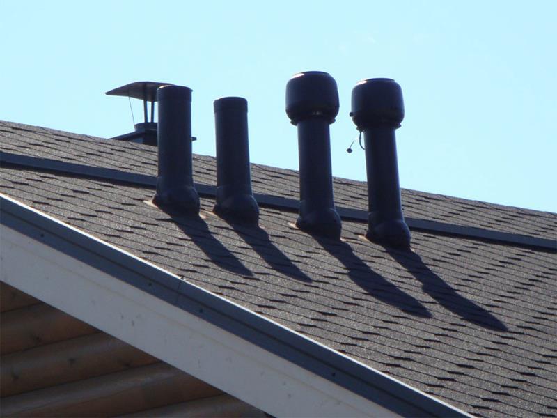 Дефлекторы на крыше