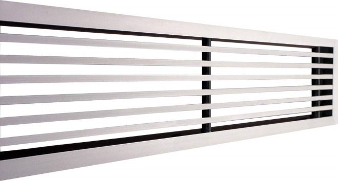 Пластиковые вентиляционные решетки