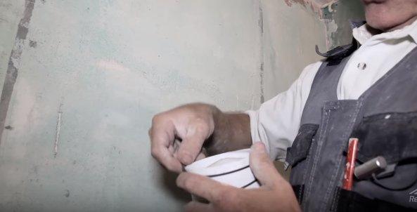 Уплотнения вентилятора с помощью резинок