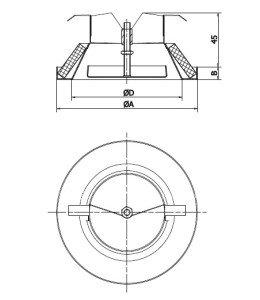 Конструкция анемостата
