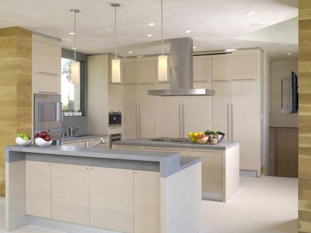 Кухонная вытяжка островного типа