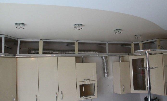 Использование гофрированной трубы на кухне