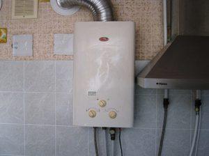 Как запустить газовую колонку бош