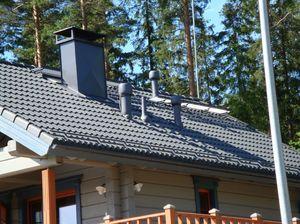 Система и элементы вентиляции кровли на крыше дома