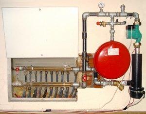Система отопления с электродным котлом в частном доме