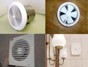 Вентилятор вытяжной для ванной