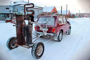 Двигатель на дровах для автомобиля