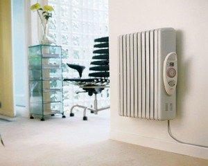 Отопление электрическим радиатором