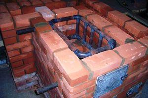 Печь для отопления дома с водяным отоплением