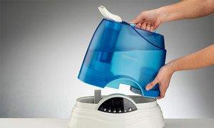 Как почистить увлажнитель воздуха от накипи и убрать белый налет