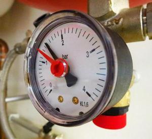 Понятие давления в системе отопления