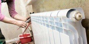 Как устранить течь в батарее отопления не сливая воду